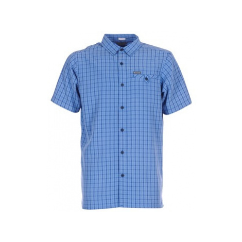 Columbia DECLINATION TRAIL II SHORT SLEEVE SHIRT men's Short sleeved Shirt in Blue