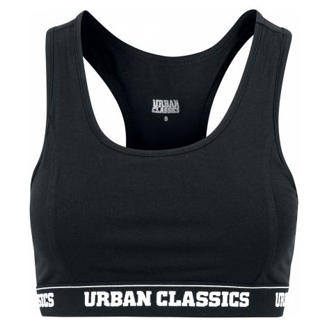 Urban Classics - Ladies Logo Bra - Bustier - black
