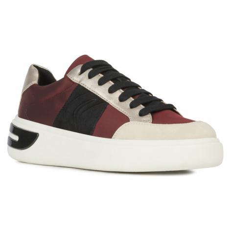Geox Ottaya Sneakers Red Beige
