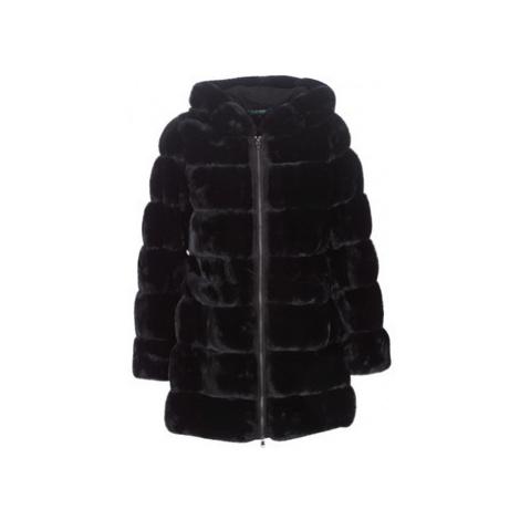 Lauren Ralph Lauren HD STK FXFUR women's Coat in Black