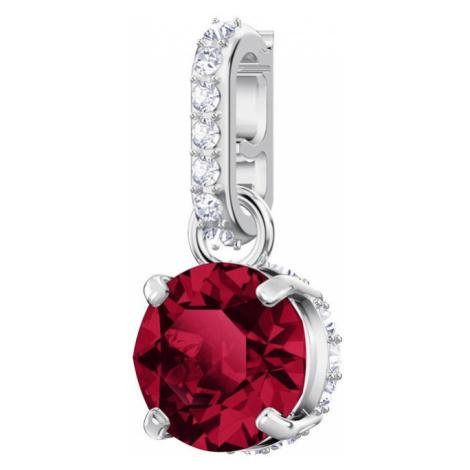 Swarovski Remix Ruby July Birthstone Crystal Clip Charm