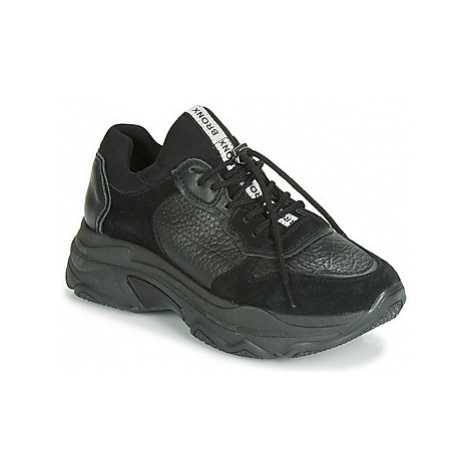 Bronx BAISLEY women's Shoes (Trainers) in Black