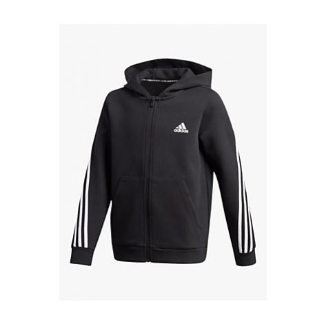 Adidas Boys' Logo Zip Hoodie