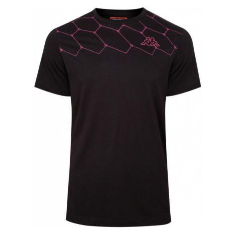 Kappa LOGO AREBO black - Men's T-Shirt