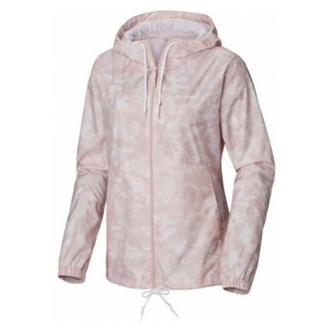 Columbia FLASH FORWARD PRINTED WINDBREAKER pink - Women's windbreaker jacket