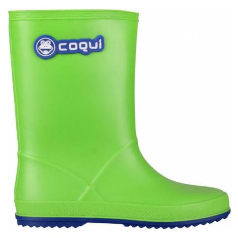 Coqui RAINY green - Children's wellies