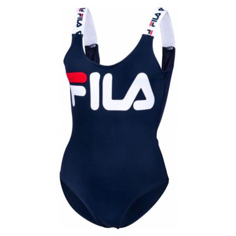 Fila YUUNA SWIMSUIT dark blue - Women's one piece swimsuit