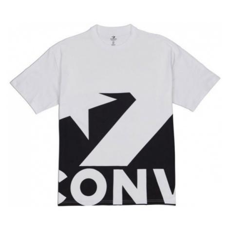 Converse STAR CHEVRON ICON REMIX TEE white - Men's T-Shirt