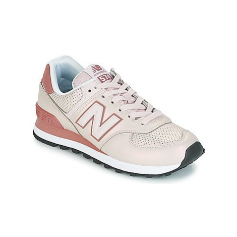 New Balance WL574 women's Shoes (Trainers) in Pink