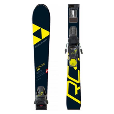 Fischer RC4 RACE JR.+FJ7 SLR - Kids' downhill skis