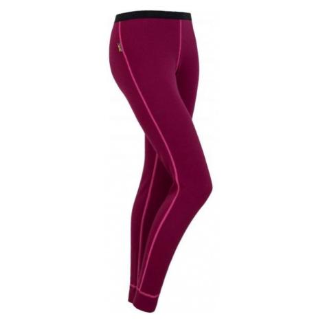 Sensor WOOL W red - Women's pants