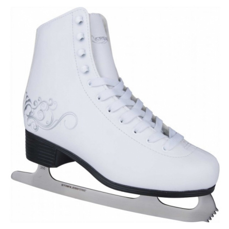Crowned LUXURY gray - Women's ice skates