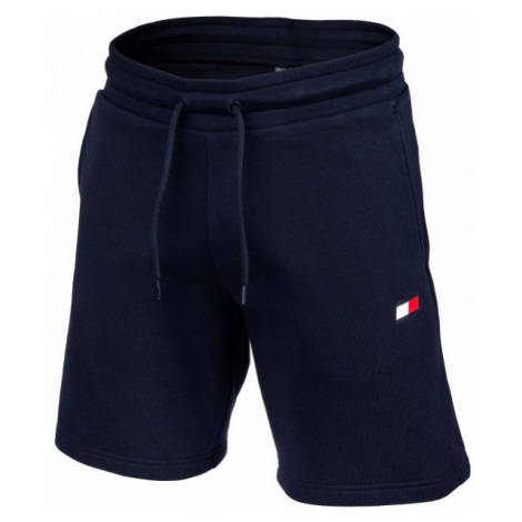 Tommy Hilfiger 9' KNIT SHORTS FLEECE dark blue - Men's shorts