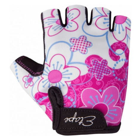 Etape REX white - Kids' cycling gloves