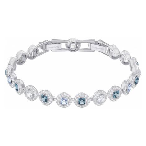 Swarovski Angelic Square Blue & White Crystal Bracelet
