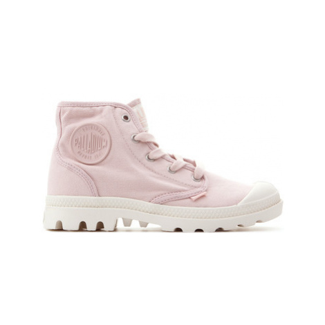 Palladium Pampa Hi 92352-621-M women's Shoes (High-top Trainers) in Pink