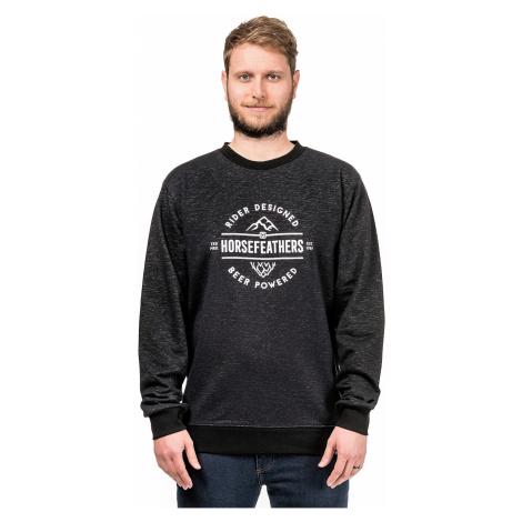 sweatshirt Horsefeathers Haller - Black Ash - men´s