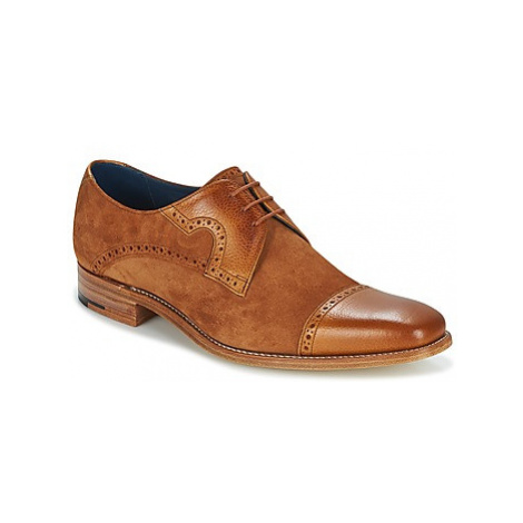 Barker APOLLO men's Casual Shoes in Brown