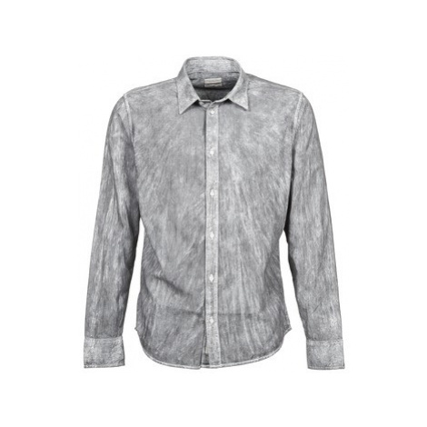 Calvin Klein Jeans WAZO men's Long sleeved Shirt in Grey