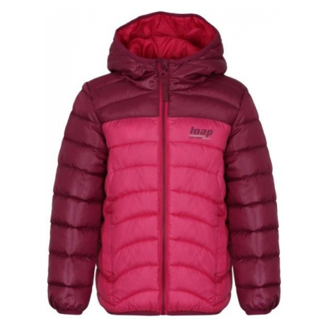 Loap INPETO pink - Kids' jacket