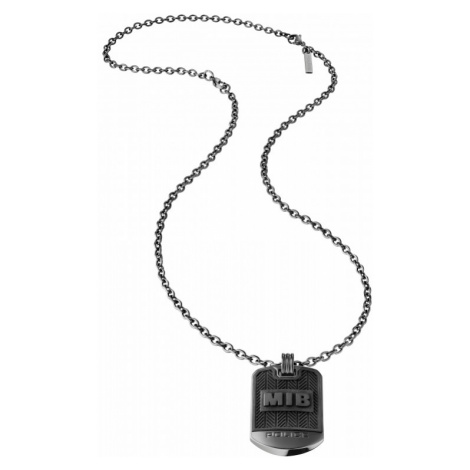 Police Necklace Dogtag - MIB Men in Black