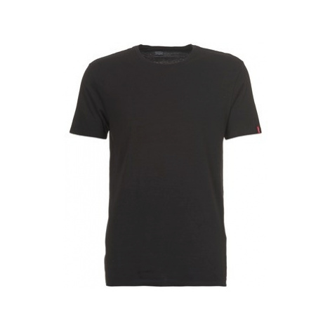 Levis SLIM 2 PACK CREW TEE men's T shirt in Black Levi´s