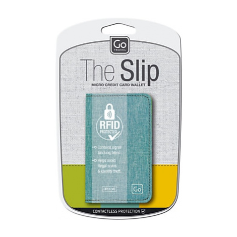 Go Travel The Slip RFID Micro Credit Card Wallet, Assorted Colours