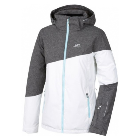 Hannah HALSTON white - Women's skiing jacket