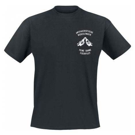 Feine Sahne Fischfilet - Niemand muss nüchtern sein - T-Shirt - black