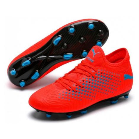 Puma FUTURE 19.4 FG/AG JR red - Kids' football cleats