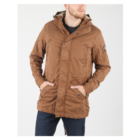 SuperDry Parka Brown