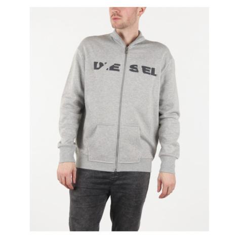 Diesel S-Barve-Bro Sweatshirt Grey