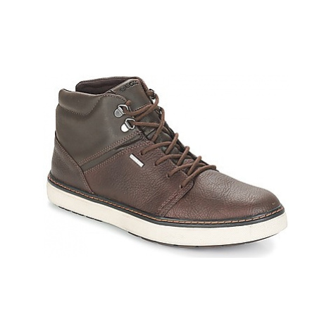 Geox U MATTIAS B ABX men's Shoes (High-top Trainers) in Brown