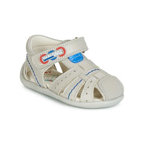 Pablosky 44655 boys's Children's Sandals in Beige