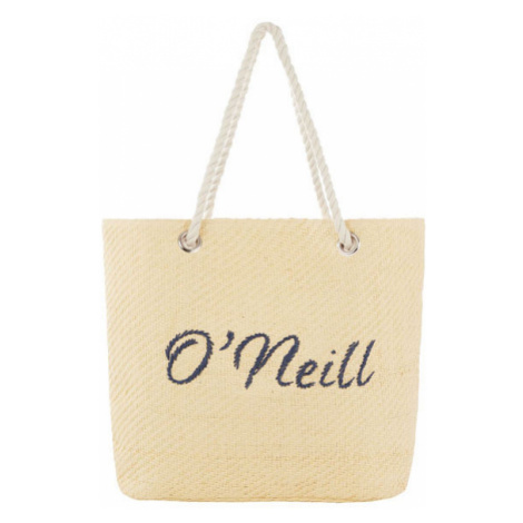O'Neill BW BEACH BAG STRAW beige - Women's beach handbag