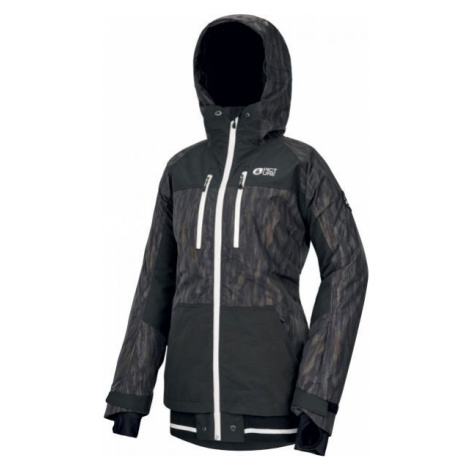 Picture LANDER PRINT black - Women's winter jacket