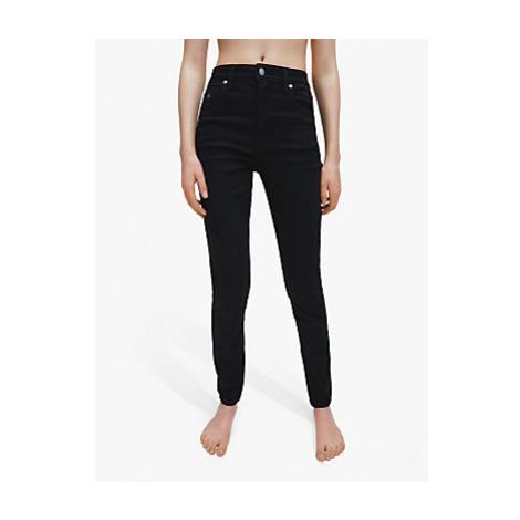 Calvin Klein High Rise Monogram Skinny Jeans