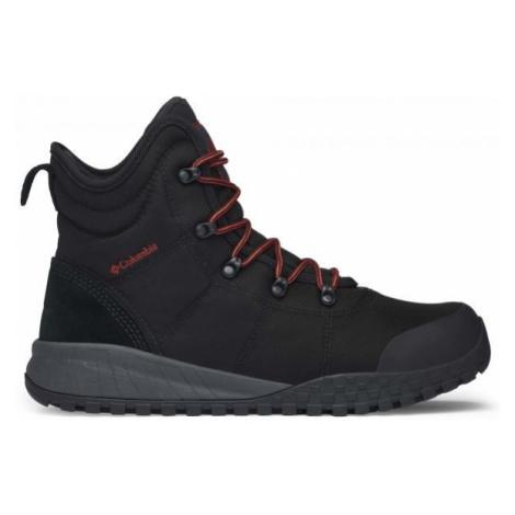 Columbia FAIRBANKS OMNI-HEAT black - Men's winter shoes