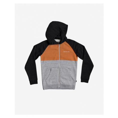 Quiksilver Easy Day Kids Sweatshirt Black Grey Orange