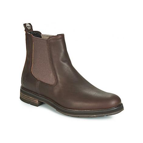 Timberland WINDBUCKS CHELSEA men's Mid Boots in Brown