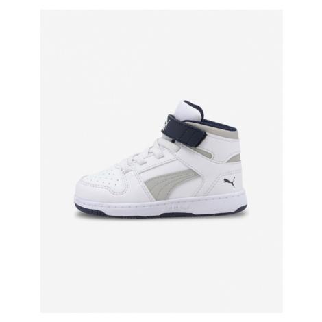 Puma Rebound LayUp Kids Sneakers White