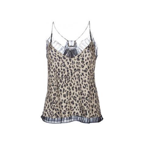 Replay W2269-000-71866-010 women's Blouse in Beige
