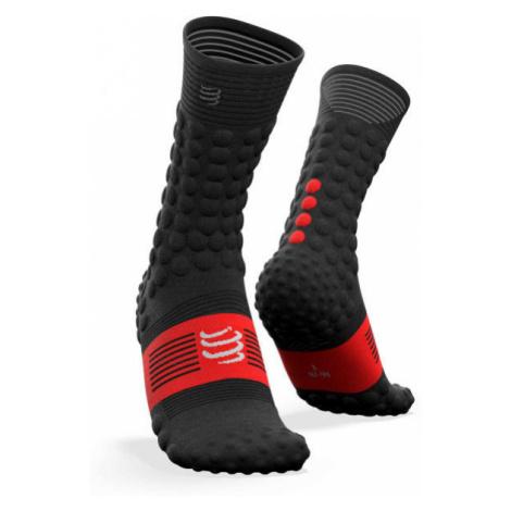 Compressport PRO RACING SOCKS v3.0 black - Winter running socks