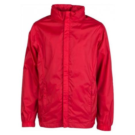 Kensis WINDY JR red - Boys' nylon jacket