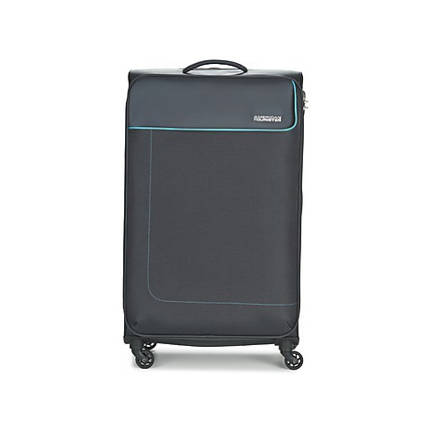 American Tourister FUNSHINE 79CM 4R men's Soft Suitcase in Grey