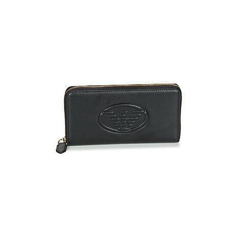 Emporio Armani Y3H168-YH18A-8001 women's Purse wallet in Black
