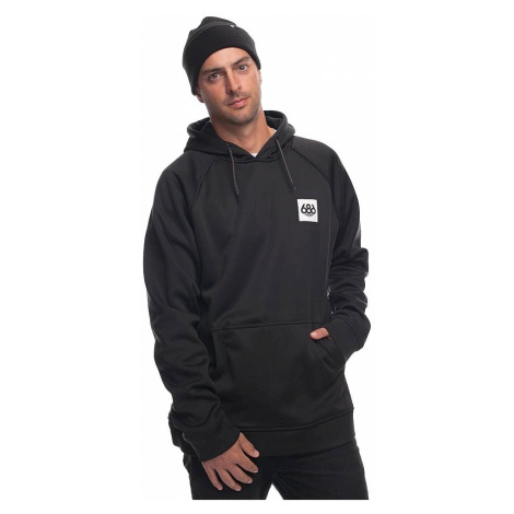 sweatshirt 686 Knockout Bonded Pullover - Black Sublimation - men´s
