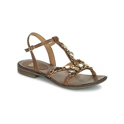 Now LEVIN women's Sandals in Brown