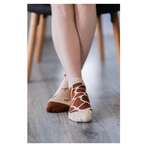 Barefoot Socks - Low-Cut - Giraffe 43-46