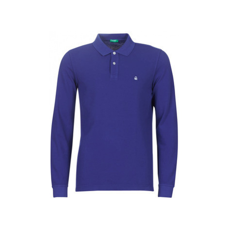 Benetton MARELO men's Polo shirt in Blue United Colors of Benetton